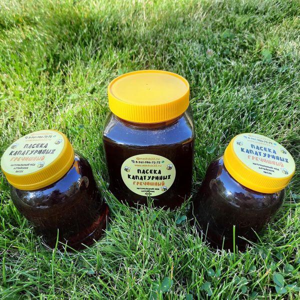 Гречишный мёд оптом (сбор 2021)